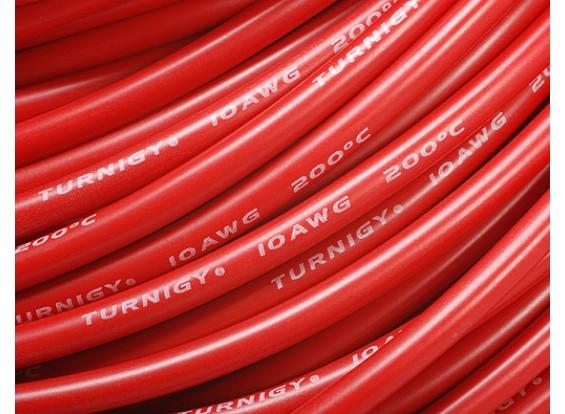 Turnigy Pure-silicone filo 10AWG 1m (Red)