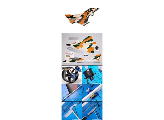 Rafale Fighter Jet w / Brushless FES ARF