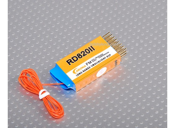 Corona 8Ch doppio Conv. Rx 35MHz (senza cristallo)