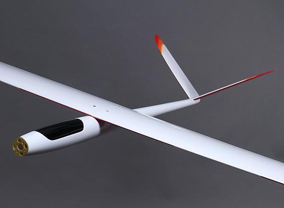 Riot completa composito ad alte prestazioni V-Tail Glider w / flap 2.000 millimetri (ARF)