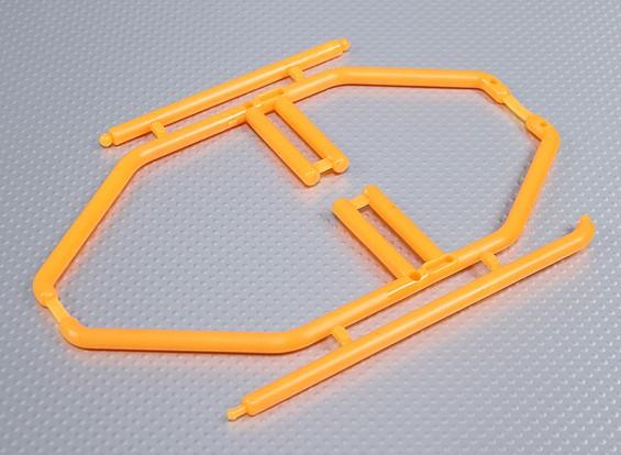 1/10 gabbia del rullo (arancione)
