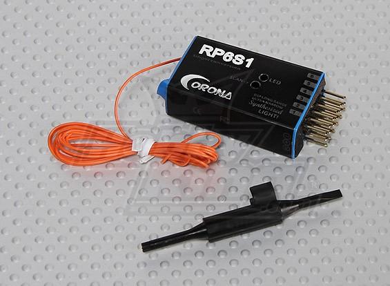 Corona sintetizzato Receiver 6Ch 35Mhz (v2)