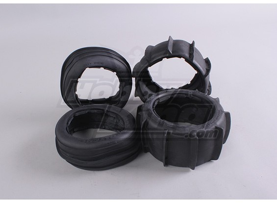 Anteriore / posteriore della sabbia Tire set (4 pezzi) Baja 260 e 260S (pneumatici solo)