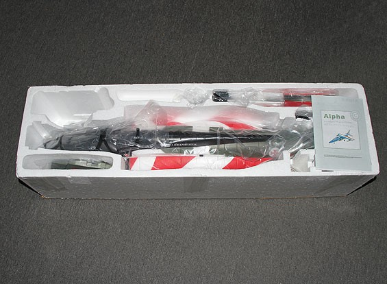 SCRATCH / DENT Alpha Jet FES 64mm 4s w / Bomba goccia EPO 745 millimetri (PNF)