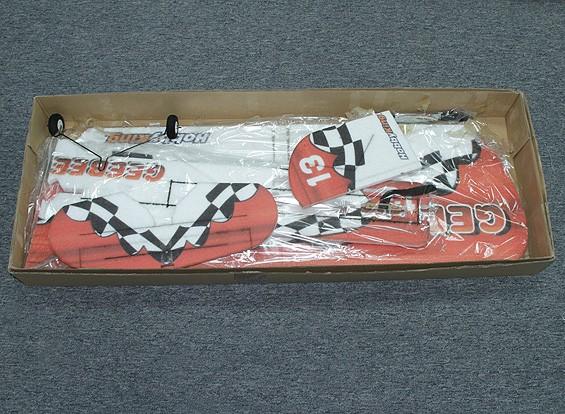 SCRATCH / DENT Dipartimento Funzione GeeBee 3D Aerobatic PPE dell'aeroplano w / 1.000 millimetri motore (ARF)
