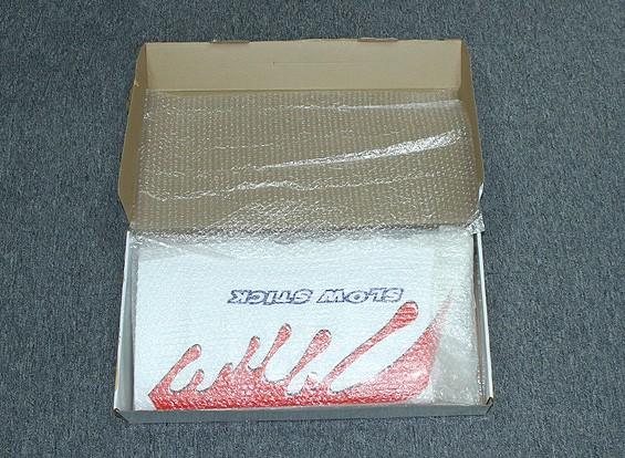 SCRATCH / DENT - Dipartimento Funzione Pubblica lento Stick Brushless Powered Aereo EPO fibra / carbonio 1.160 millimetri (ARF)