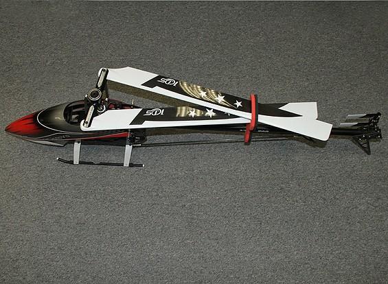 SCRATCH / DENT - KDS Innova 700 V2 DFC Flybarless corredo dell'elicottero