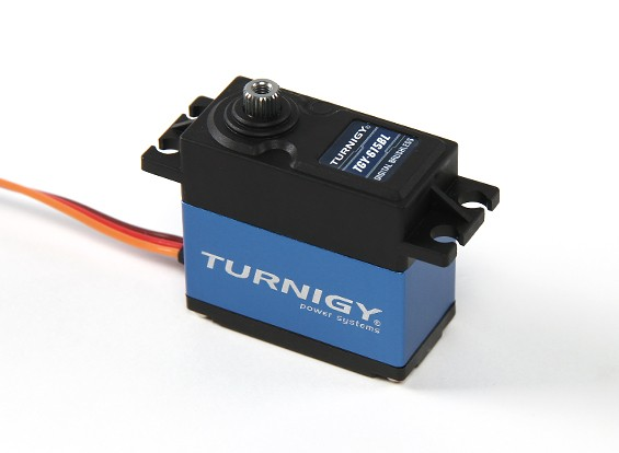 SCRATCH / DENT - Turnigy TGY-615BL metallo digitale innestato Brushless Servo 60g / 12kg / 0.08sec