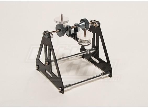 Turnigy R / C universale Main Blade Balancer (fibra di carbonio)