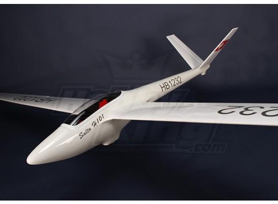 Salto-H101 fibra di vetro Glider 2.68m (105.5in) ARF