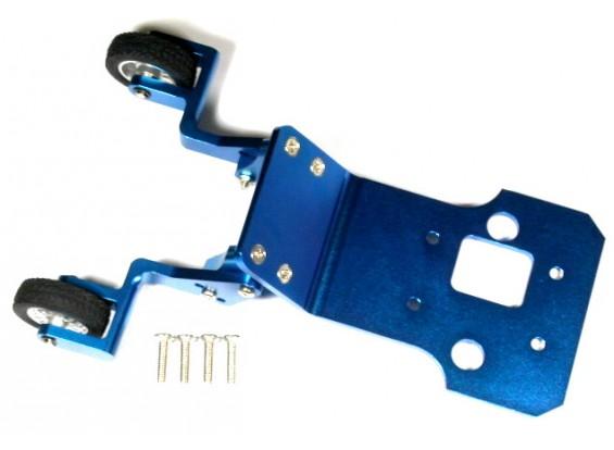 Lega bar impennata posteriore con cerchi e pneumatici