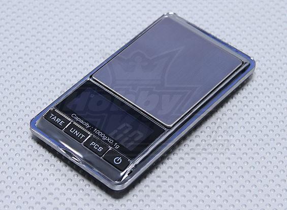 Scala in acciaio inox Digital Pocket