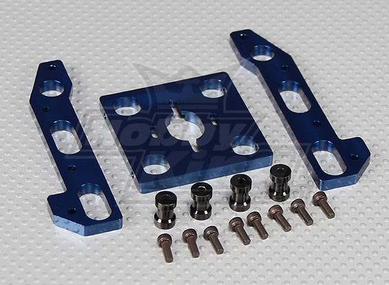 Scorpion Motor Mount Kit conversione Hirobo Aquila 3 (25mm spaziatura)