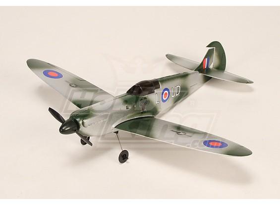 Micro Spitfire w / 5A ESC, BL-Motor, 2.5G Servo & LiPo