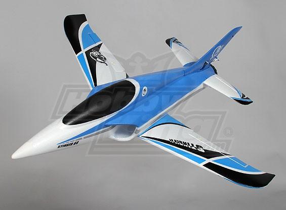 Stinger 64 EDF Sport Jet 700 millimetri Blu EPO (RTF - Mode 1)
