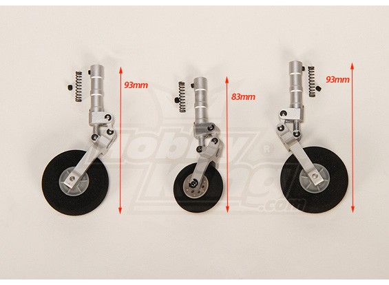 7075 Lega Shock Absorbing Strut Set