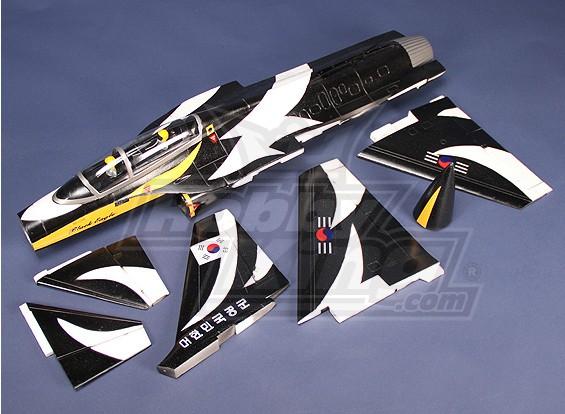 T-50 70 millimetri EDF Jet (nero Kit)