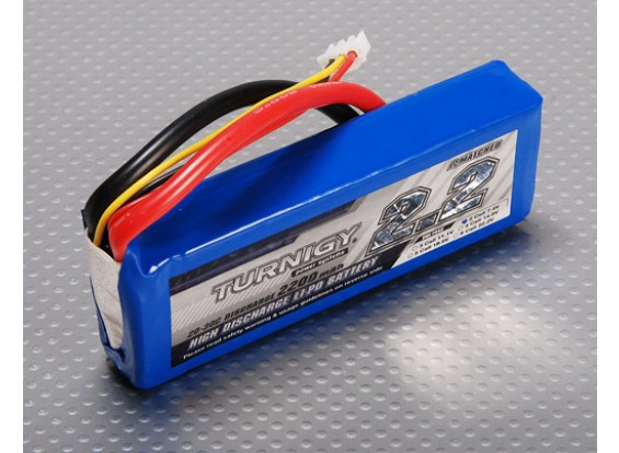 Turnigy 2200mAh 2S 20C Lipo Confezione