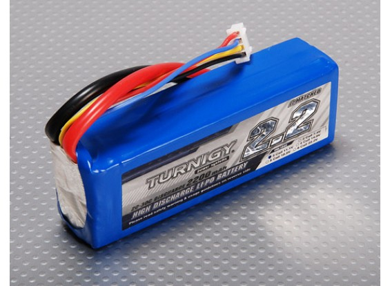 Turnigy bulk Acquista 2200mAh 3S 20C ($ 14.99ea / scatola 36pc)