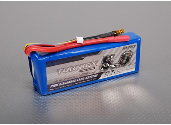 Turnigy 5000mAh 3S 40C Lipo Confezione