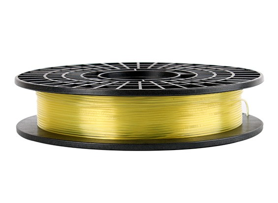 CoLiDo 3D filamento stampante 1,75 millimetri PLA 500G spool (giallo traslucido)