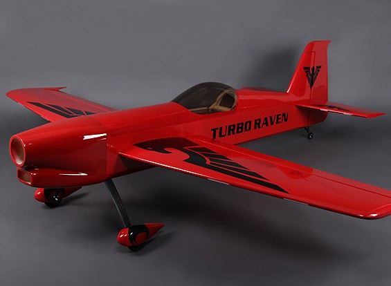 Turboraven 30cc 1.900 millimetri gas w / Carbon Fiber carrello di atterraggio (ARF)