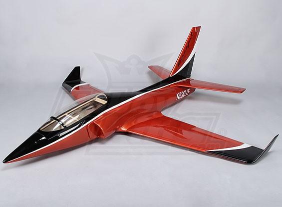 ViperJet vetroresina 90 millimetri FES 1250mm (ARF)