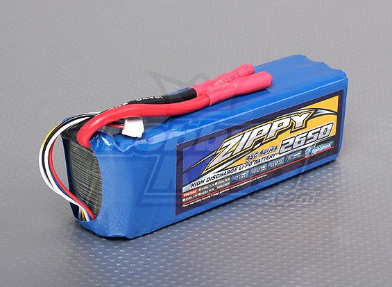 ZIPPY Flightmax 2650mAh 6S1P 45C