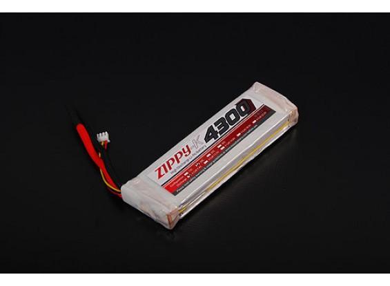 ZIPPY-K 4300mAh 2S1P 20-30 ° C