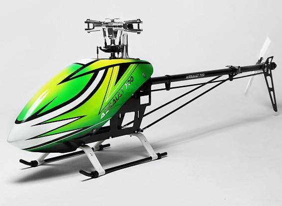 Piatto Oscillante Elicottero : Assault corredo dell elicottero dfc flybarless