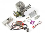 RCGF 35cc Side Exhaust Gas Engine w/CD Ignition 4.2HP@9000rpm