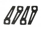 pattini in fibra di carbonio