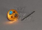 CNC maschera di foratura Set 4SS (Drill 4,3 millimetri) Oro