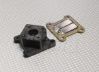 RCG 26cc Reed Block e del collettore