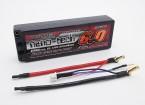 Turnigy nano-tech 6000mAh 2S2P 65 ~ 130C Hardcase Lipo Confezione