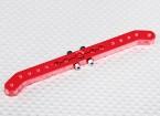 Heavy Duty 4.2in lega Pull-Pull Servo Arm - Futaba (Red)