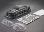 1/10 Mustang GT350 in fibra di carbonio stile auto Shell corpo (190 millimetri)