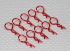 Clip medio-ring corpo (Red) (10pz)