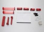 1/8 auto magnetica corpo set di montaggio (Red)