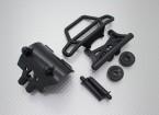 Quanum Skull Crusher 2WD - set di paraurti, wheeliebar con piastra di collegamento