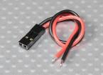 JWT 2 Pin Pre-wired 100 millimetri di piombo fly - 1pcs / bag