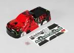 1 10 Quanum Skull Crusher corpo (Red) - A2032