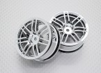 Scala 1:10 di alta qualità Touring / Drift Wheels RC 12 millimetri auto Hex (2pc) CR-RS4C