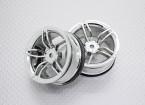 Scala 1:10 di alta qualità Touring / Drift Wheels RC 12 millimetri Hex (2pc) CR-FFC