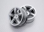 Scala 1:10 di alta qualità Touring / Drift ruote RC auto 12mm Hex (2pc) CR-F12S