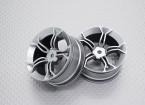 Scala 1:10 di alta qualità Touring / Drift Wheels RC 12 millimetri Hex (2pc) CR-MP4s