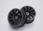 Scala 1:10 di alta qualità Touring / Drift Wheels RC 12 millimetri auto Hex (2pc) CR-M3M