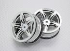 Scala 1:10 di alta qualità Touring / Drift Wheels RC 12 millimetri auto Hex (2pc) CR-F12C
