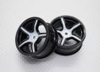Scala 1:10 di alta qualità Touring / Drift Wheels RC 12 millimetri Hex (2pc) CR-CHW