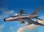 Italeri 1/72 Scale Kit F-100 Super Sabre Plastic Modello